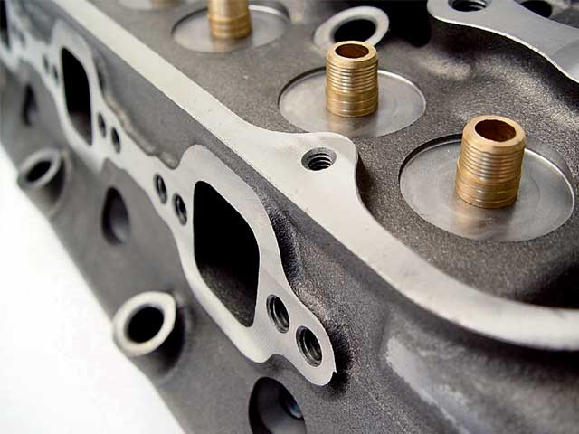Cylinder Heads Close Up
