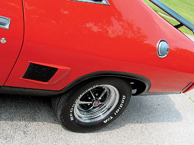 1974 Australian Ford Falcon XBGT Wheels