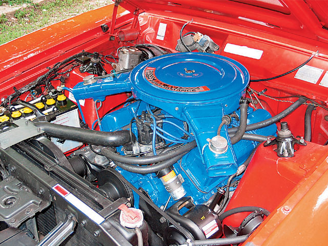 1974 Australian Ford Falcon XBGT Engine Bay