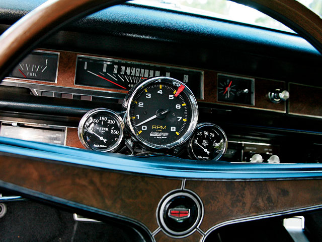 1969 Mercury Marauder X 100 Gauges