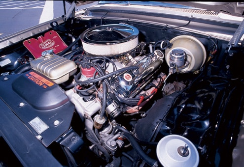 Ford Station Wagon Engine Bay