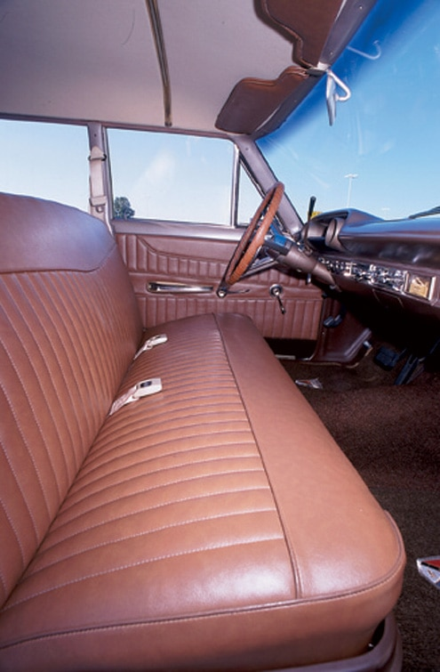 Ford Station Wagon Interior Bench Seat