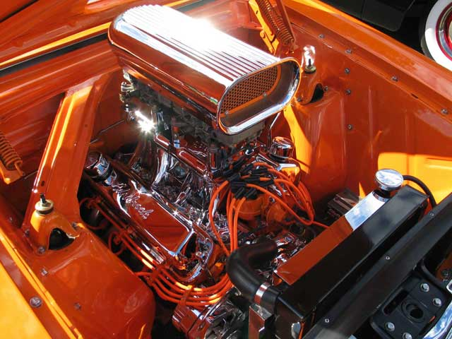1963 Ford Falcon Underhood Engine