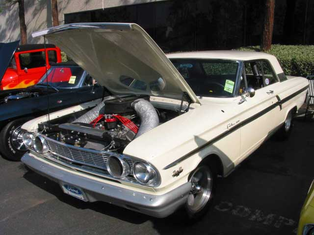 1964 Ford Thunderbolt Front Side View Hood Up