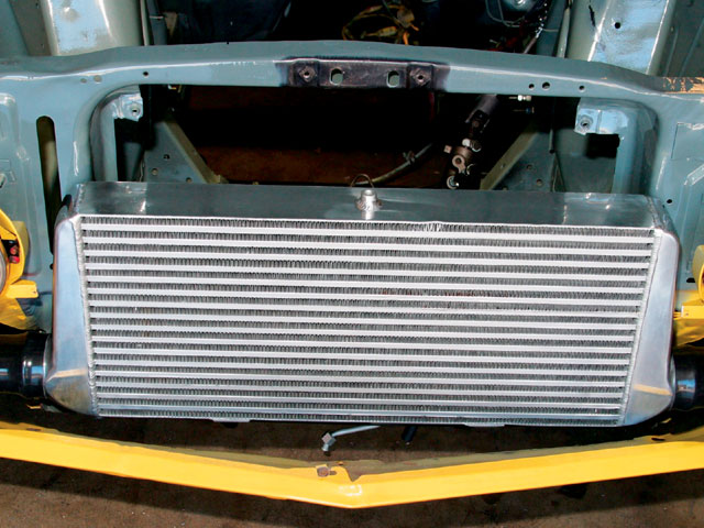 Turbo Charged Six Cylidner Mustang Intercooler