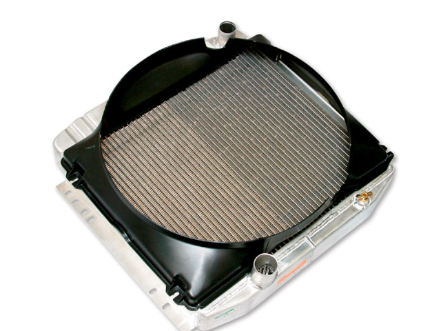 Turbo Charged Six Cylidner Mustang Radiator
