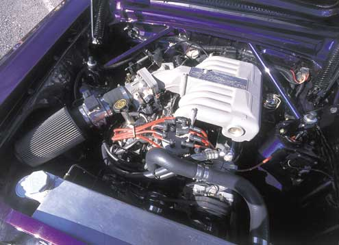 1963 Mercury Comet Engine Bay