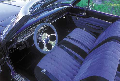1963 Mercury Comet Driver Side Interior
