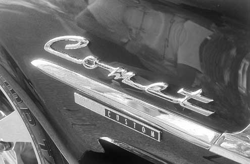 1963 Mercury Comet Badge