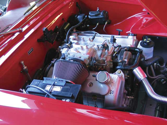 1955 Ford Thunderbird Engine Bay