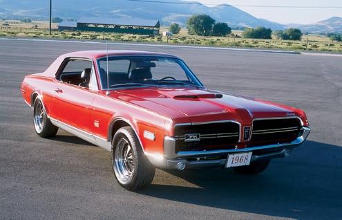 P175137 Large 1968 Mercury Cougar GTE Front End
