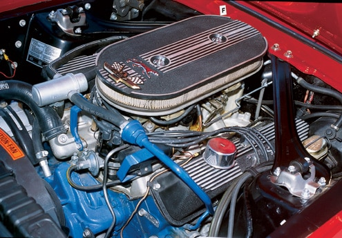 1968 Mercury Cougar GTE Engine Bay