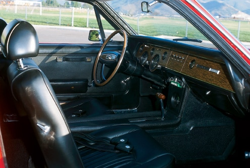 1968 Mercury Cougar GTE Passenger Side Interior