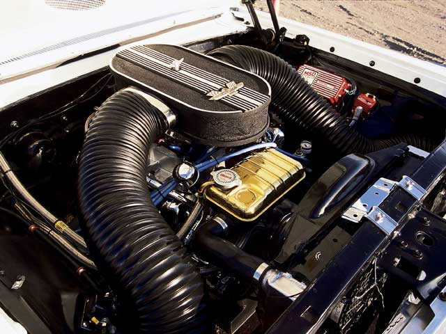 1964 Ford Galaxie 500 Engine Bay View