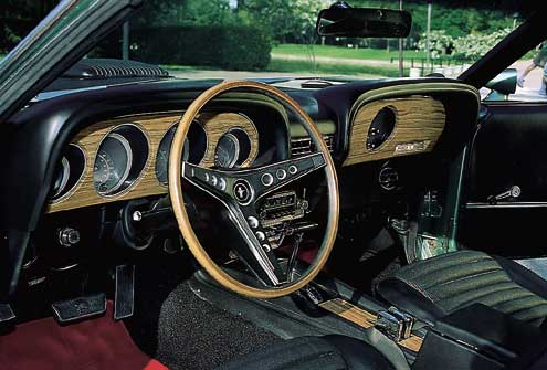 Roush Stage 3 >> P46106 Large+1969 Ford Mustang Mach 1+Interior Dashboard ...