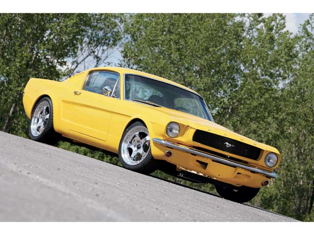 Mufp 0609 Sn65 13 Z 1965 Ford Mustang Fastback Front View