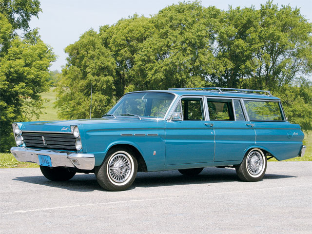 1965 Mercury Comet Villager Side