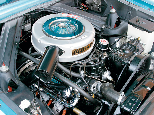 1965 Mercury Comet Villager Engine Bay