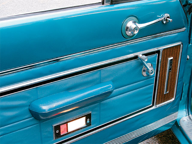1965 Mercury Comet Villager Door Panel