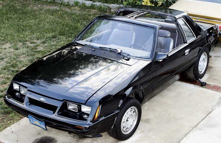 T Top Mustang >> M5lp 0605 01s 1986 Ford Mustang T Top Front Driver Side0