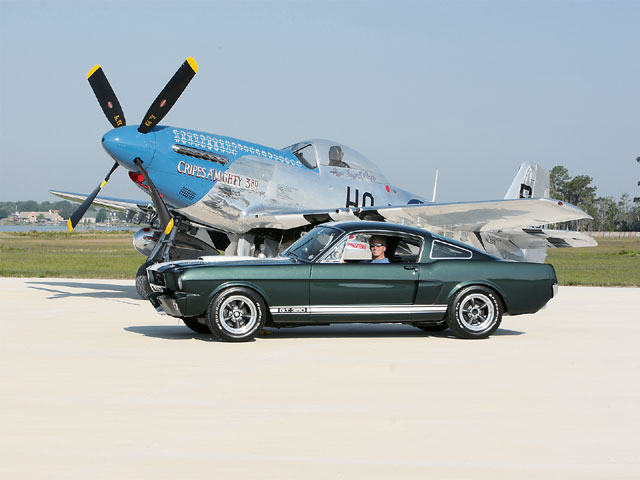 Ford Mustang Gt 350 Drivers Side View