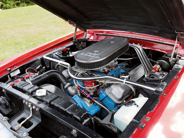 1967 Ford GTA Coupe Engine View