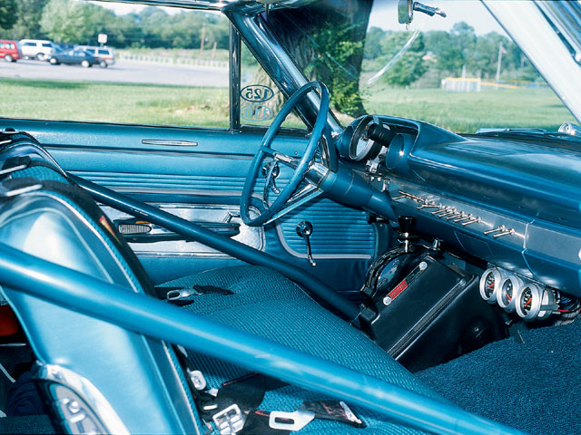 1963 Ford Galaxie Fastback Interior
