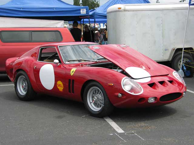 Ferrari GTO Replica Front Side