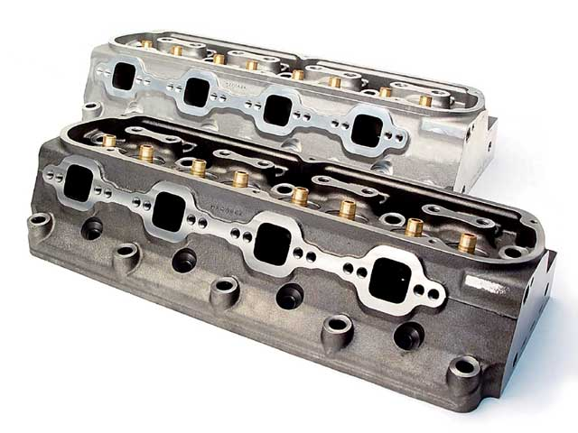 Cylinder Heads Aluminum And Iron