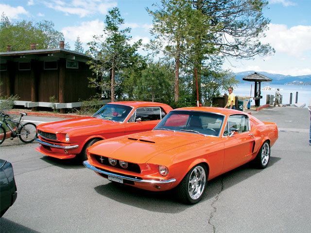 Restomods In Reno Mustangs