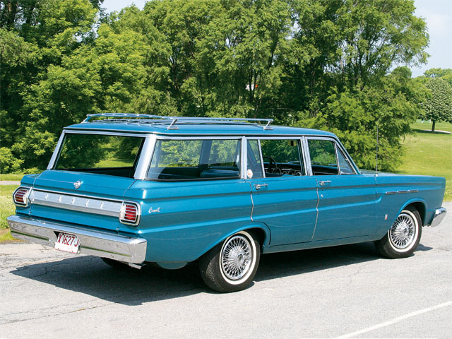 1965 Mercury Comet Villager Rear