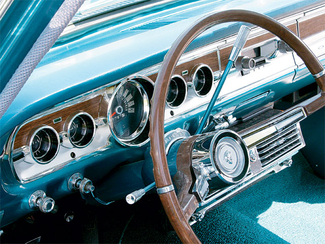1965 Mercury Comet Villager Gauges