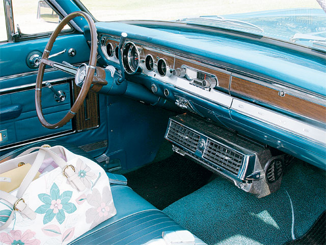 1965 Mercury Comet Villager Interior