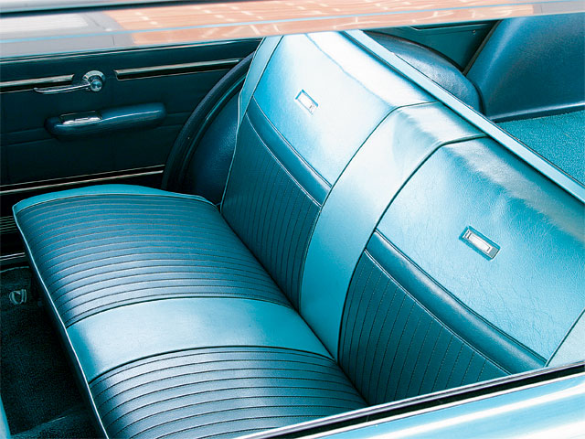 1965 Mercury Comet Villager Back Seats
