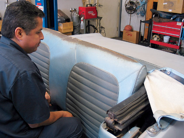 Mump 0702 03z Ford Mustang Replacing Convertible Top Motor