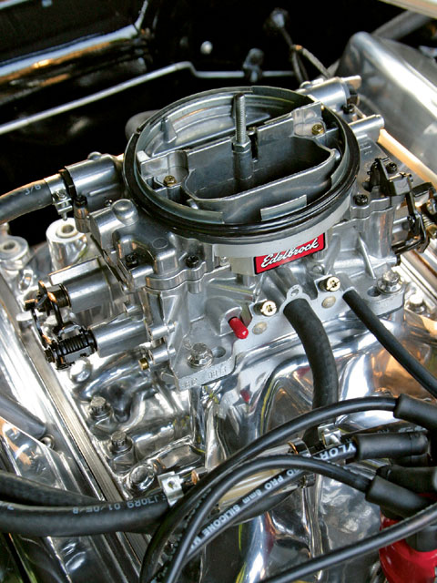 1967 Ford Mustang Engine View
