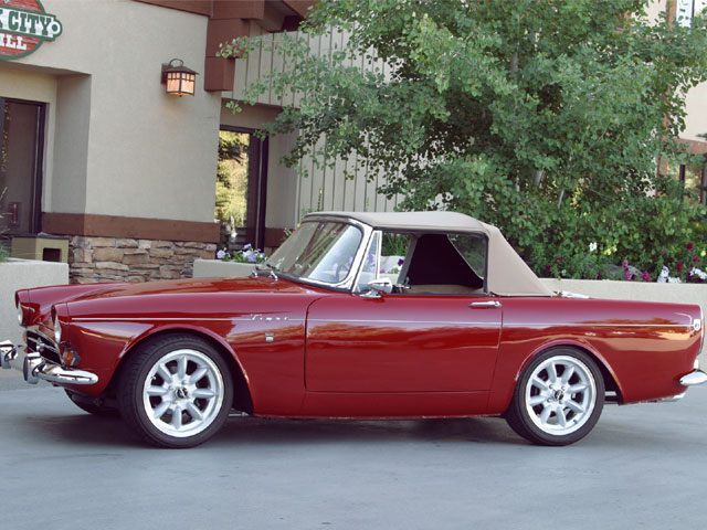 1967 Sunbeam Tiger Mk1a Passengers Side View