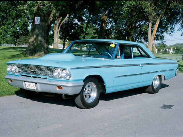 1963 Ford Galaxie Fastback Front View