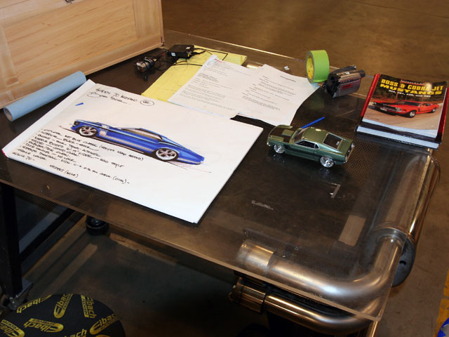Behind The Scenes At Overhaulin Sketch