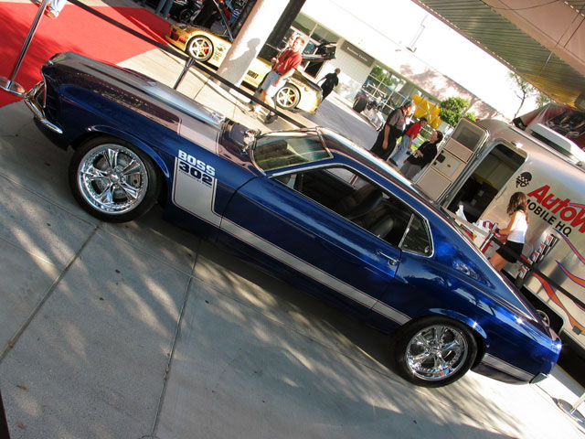 Cars From SEMA 2006 Overhaulin 1970 Sportsroof Mustang