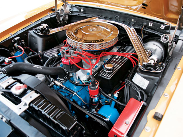 1970 Mercury Cougar Engine