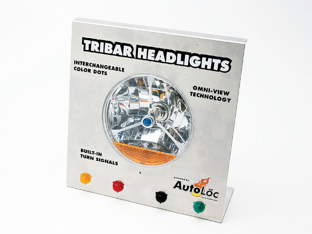 Sema Show Tribar Headlamp