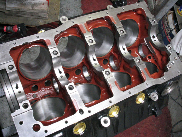 MCE 427Ci Engine Build Bottom End