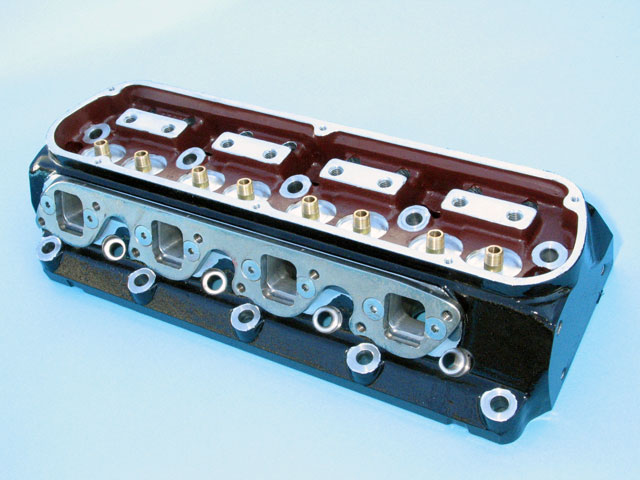 MCE 427Ci Engine Build Cylinder Heads
