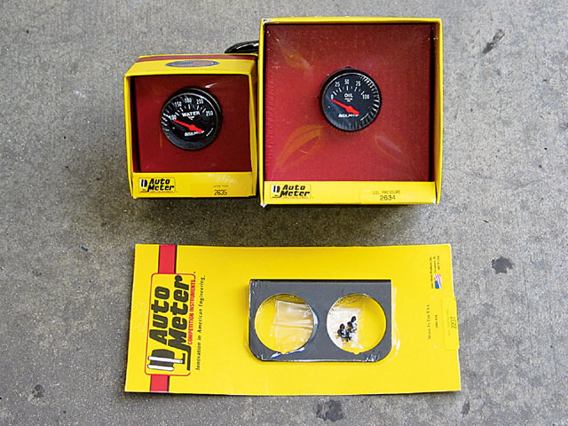 Ford Gauges Kit View