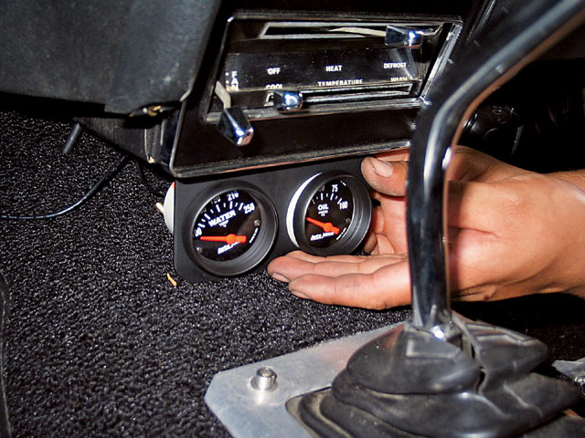 Ford Gauges Installation View