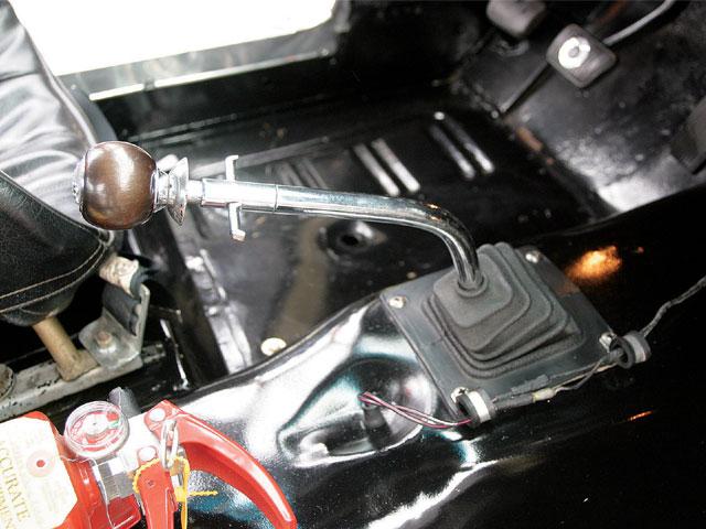 0706 Mump 06 Z Shelby Group Restoration Shifter