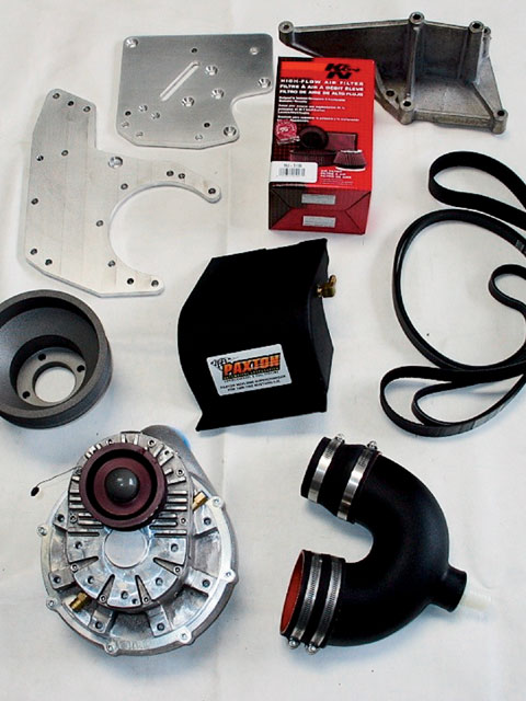 Ford Supercharger Full Kit View