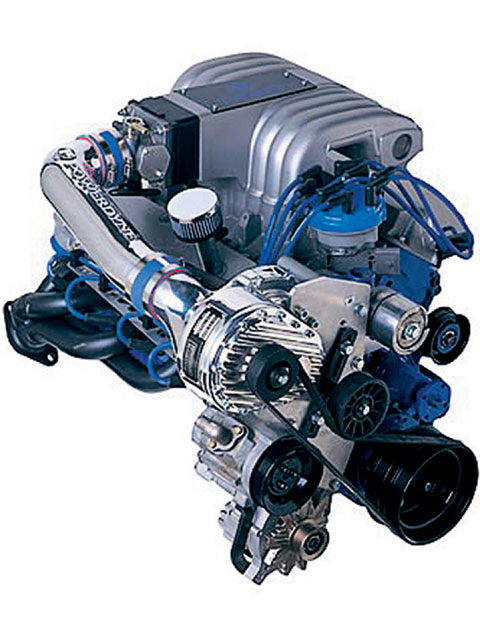 Ford Supercharger Supercharger View