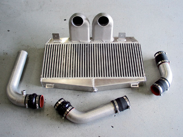 Ford Supercharger Intercooler View